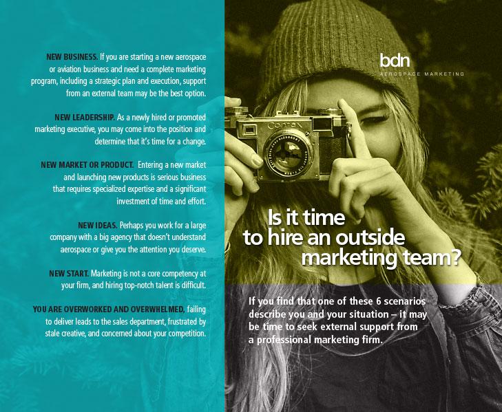 Hiring an Outside Marketing Firm